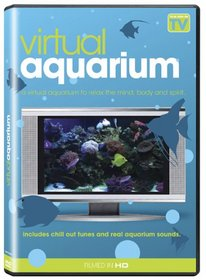 Virtual Yuletide Fireplace and Aquarium
