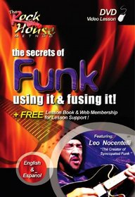 Rock House - Funk: Using It and Fusing It DVD