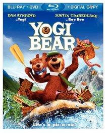 Yogi Bear (Blu-ray/DVD Combo + Digital Copy)