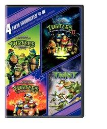 Teenage Mutant Ninja Turtles: 4 Film Favorites (Teenage Mutant Ninja Turtles / Teenage Mutant Ninja Turtles II / Teenage Mutant Ninja Turtles III / TMNT)
