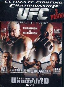 Ultimate Fighting Championship, Vol. 43: Meltdown/Ultimate Fighting Championship