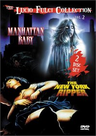 The Lucio Fulci Collection Volume 2 (Manhattan Baby/The New York Ripper)