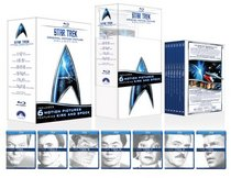 Star Trek: Original Motion Picture Collection (The Motion Picture / The Wrath of Khan / The Search for Spock / The Voyage Home / The Final Frontier / The ... Captains Summit Bonus Disc) [Blu-ray]