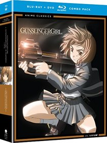 Gunslinger Girl + Gunslinger Girl Il Teatrino (Seasons One and Two + OVA) Classic (Blu-ray/DVD Combo)