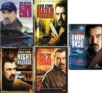 Jesse Stone 5 DVDs: Stone Cold / Night Passage / Death in Paradise / Sea Change / Thin Ice