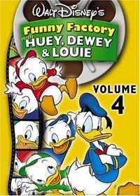 Walt Disney's Funny Factory With Huey, Dewey and Louie, Vol. 4
