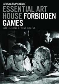 Essential Art: Forbidden Games (Ws Sub B&W)