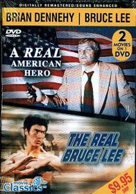 [DVD] Double Feature - Brian Dennehy in A Real American Hero & Bruce Lee in The Real Bruce Lee from Movie Classics