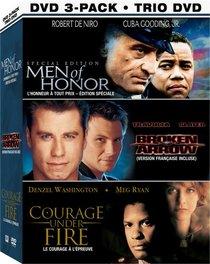 Broken Honor 3 Pack (Men of Honor / Broken Arrow / Courage Under Fire)