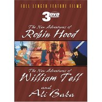 The New Adventures of Robin Hood/The New Adventures of William Tell/Ali Baba (3-DVD Amaray)