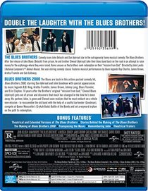 The Blues Brothers Double Feature (The Blues Brothers / Blues Brothers 2000) [Blu-ray]