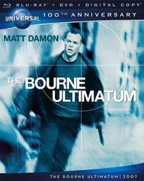 The Bourne Ultimatum [Blu-ray + DVD + Digital Copy] (Universal's 100th Anniversary)