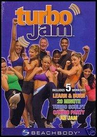 Turbo Jam Beachbody 5 Rockin' Workouts