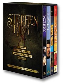 Stephen King DVD Collector Set (Misery / The Dark Half / Needful Things / Carrie)