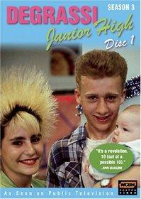 Degrassi Junior High: Season 3, Disc 1