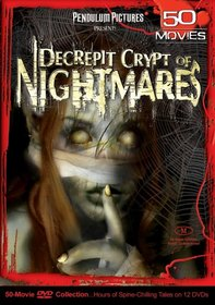 Decrepit Crypt of Nightmares 50 Movie Pack