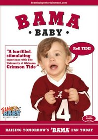 """Bama Baby """"Raising Tomorrow's 'Bama Fan Today"""" [VHS]"""