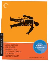 Anatomy of a Murder (Criterion Collection) [Blu-ray]
