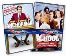 Anchorman / Old School (Widescreen Edition)