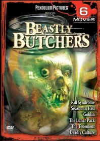Beastly Butchers 6 Movie Pack