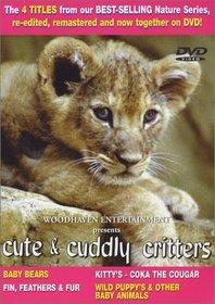 Cute & Cuddly Critters 1 Set (4pc)