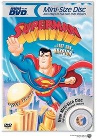 Superman - Last Son of Krypton (Mini-DVD)
