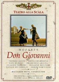 Mozart - Don Giovanni / Giorgio Strehler · Riccardo Muti · T. Allen · E. Gruberova · Teatro alla Scala