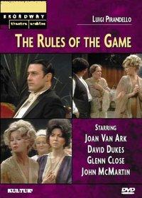 Luigi Pirandello's The Rules of the Game (Broadway Theatre Archive)
