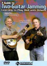 DVD-A Guide to Two-Guitar Jamming-Learning to Play Well with Others