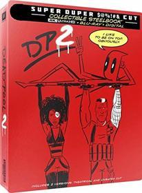DEADPOOL 2 4k + Blu-ray + Digital Steelbook