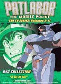 PATLABOR THE MOBILE POLICE: THE TV SERIES VOL. 9-11 (DVD MOVIE)