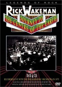 Rick Wakeman - Journey to the Centre of the Earth (DVD + CD)