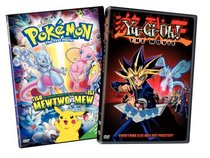 Yugioh The Moviepokemon The First Movie Dvd With Dan Green Eric