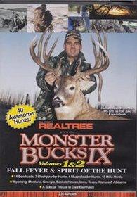 Realtree® Monster Bucks Ix Vol 1 & 2 Deer Hunting DVD