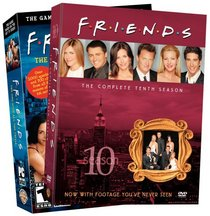 Friends Video Game and Season 10 (DVD) (2-Pack)