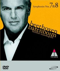 Beethoven - Symphonies 7 and 8 (DVD Audio)