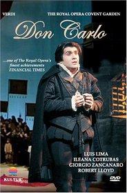Verdi - Don Carlo / Lima, Cotrubas, Zancanaro, Baglioni, Lloyd, Haitink, Covent Garden Opera