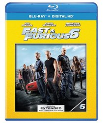 Fast & Furious 6 (Blu-ray + Digital Copy + UltraViolet + Furious 7 Fandango Cash)