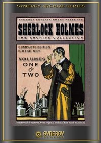 Sherlock Holmes: The Archive Collection Volumes 1 & 2 (6 Disc Set)