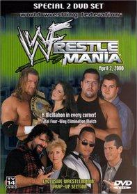 WWE WrestleMania April 2, 2000