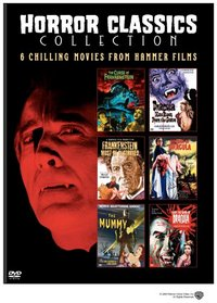 Horror Classics Collection (The Curse of Frankenstein / Dracula Has Risen from the Grave / Frankenstein Must Be Destroyed / Horror of Dracula / The Mummy / Taste the Blood of Dracula)