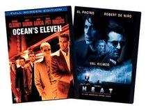 Ocean's Eleven (2001) & Heat (2pc) (Sbs)