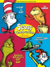Seuss Celebration (The Grinch Grinches the Cat in the Hat / The Cat in the Hat/ Green Eggs and Ham / The Lorax)
