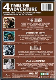4 Movie Marathon: Westerns Collection (The Far Country / Whispering Smith / The Plainsman / Man in the Shadow)