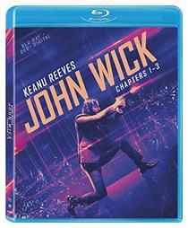 John Wick Chapters 1-3 [Blu-ray]