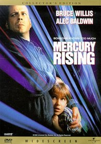 MERCURY RISING (DVD)COLLECTORS EDITION/RATIO W/S 2.35/ENG/SPAN/5.1 SURROUND