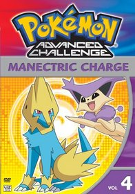 Pokemon Advanced Challenge, Vol. 4 - Manectric Charge
