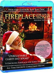 Fireplace DVD - Blu Ray Holiday Edition Volume 4