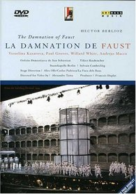 Berlioz - La Damnation de Faust / Cambreling, Kasarova, Groves, White, Salzburger Festspiele