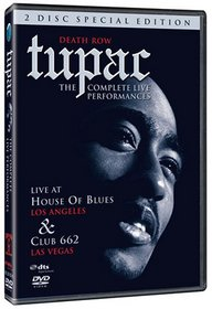 Tupac - The Complete Live Performances